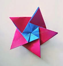 origami star for kids