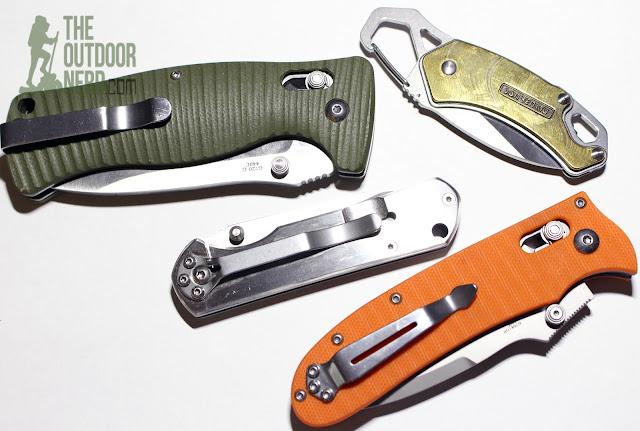 Sanrenmu 7010 EDC Pocket Knife - Box Of Knives