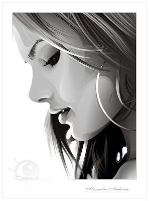 retratos con corel draw inpiracion