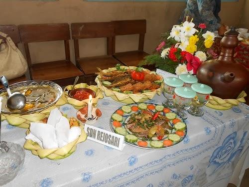 Lomba Menyusun Menu Makan Siang Tradisional