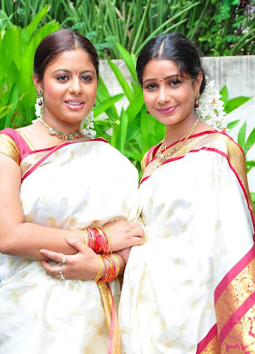 Hot and Spicy Actress Sunakshi and Reshmi in Hot Saree Photos and stills