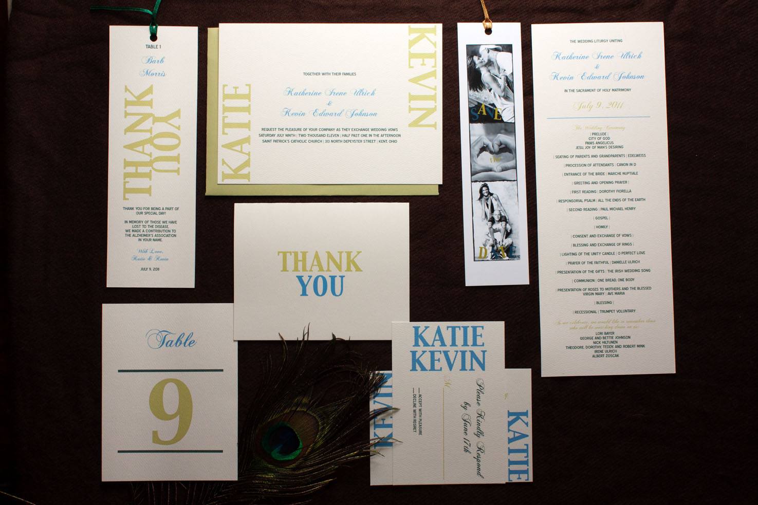 Baci Designer: Wedding Wednesday | Katie + Kevin's Wedding