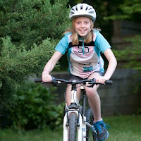 Girl Cyclist Tour de France Champ