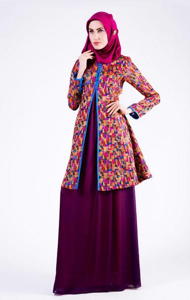 Model Baju Muslim Shafira Wanita Terbaru Fashion Style
