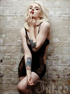 Magazine photoshoot : Katrina Darling Photoshot For Inked Magazine Janeiro 2014 Issue
