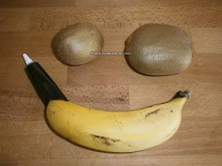 Ingredientes elaboración Receta tortuga Kiwis Zespri