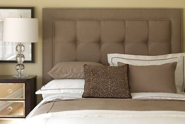 CUSTOM COMFORT Upholstered Headboards