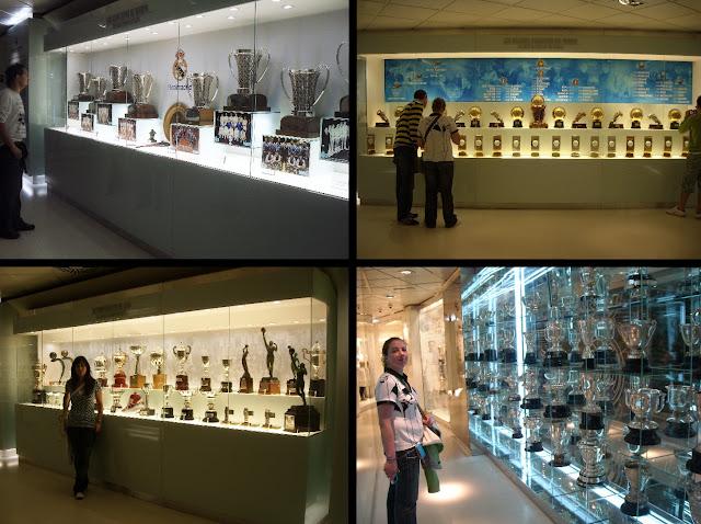estadio santiago bernabeu futbol real madrid trofeos