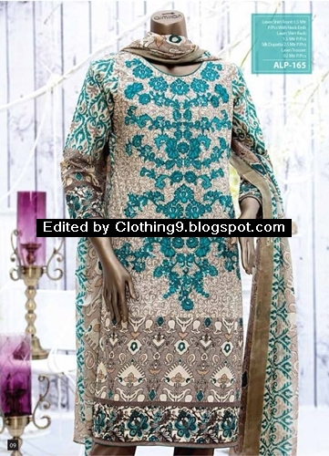 Almirah premium eid collection 2015 kurti almirah kurta shalwar - Almirah designs for clothes ...