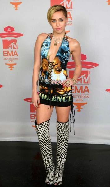 Miley Cyrus de gira por Europa