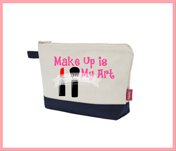 Make Up Is My Art Cosmetic Bag