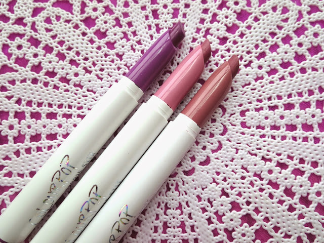 a picture of Colourpop Cosmetics Lippie Stix in Fern, Westie, Lumiere