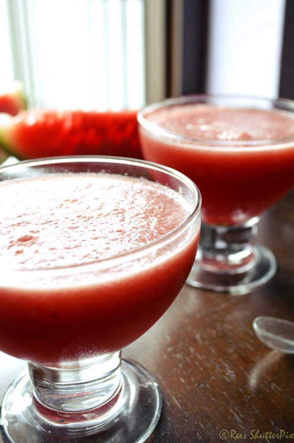 how to make watermelon juice with lemon