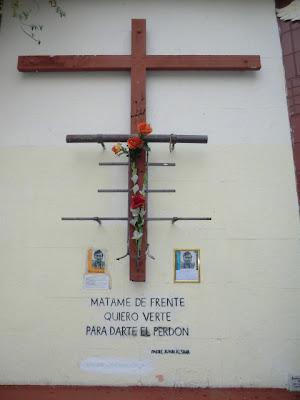 Memorial de Joan Alsina en el Puente Bulnes