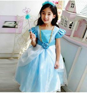 Contoh Baju Pesta Ulang Tahun Anak Perempuan