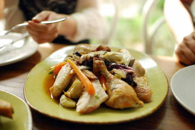 Chiswick Restaurant NSW Collective Menu Roast Chicken