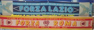 bufanda Lazio y Roma