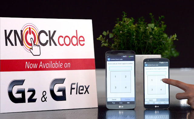 LG G2 & G Flex Knock Code support