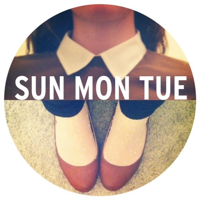 SUN MON TUE