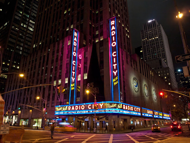 Radio City Music Hall, en Nueva York