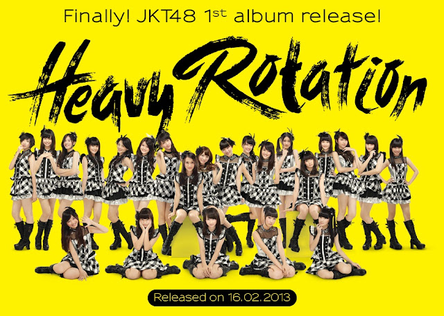 JKT48 1st Album Heavy Rotation