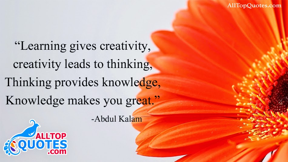 Best Knowledge Quotations By Abdul Kalam All Top Quotes Telugu