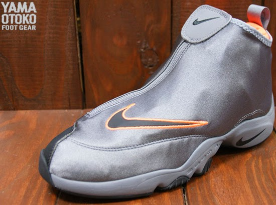 Online Nike Zoom Flight The Glove Cool Grey Black-Total Orange 6