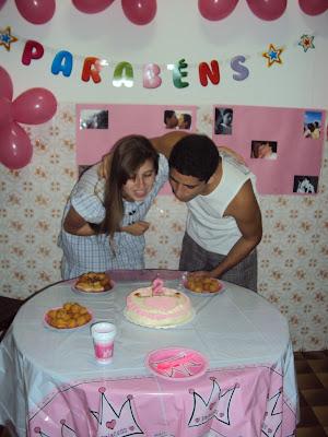 festa de aniversário de 2 anos de namoro