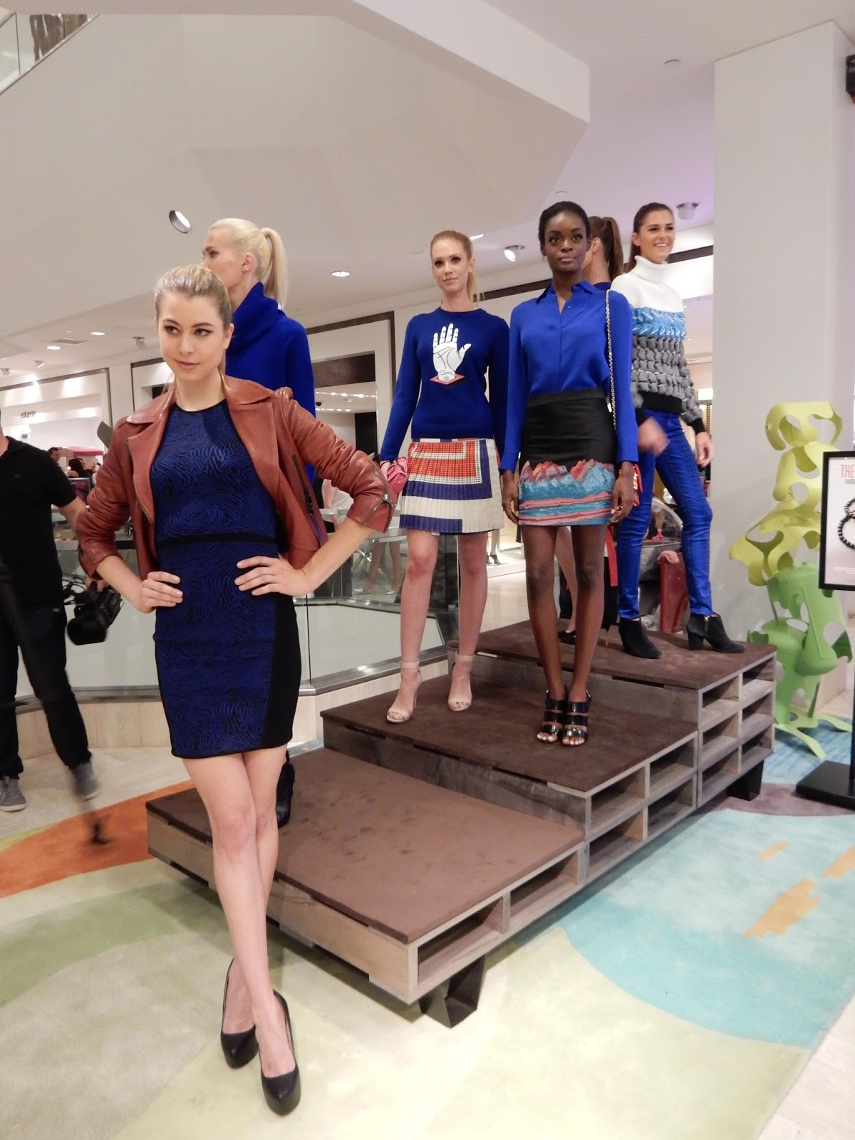 Electric Blue Styles on Models CUSP Beverly Hills Fashion in Los Angeles