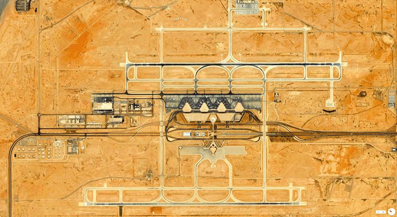 Foto mozzafiato: Arabia Saudita: Riyad - Aeroporto Internazionale Re Khalid