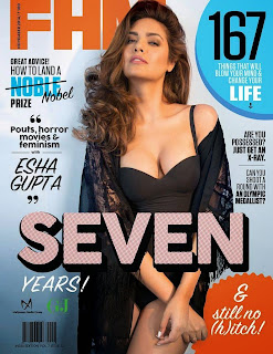 Esha Upta SIzzling Pics from Cover of FHM India Nov 2014