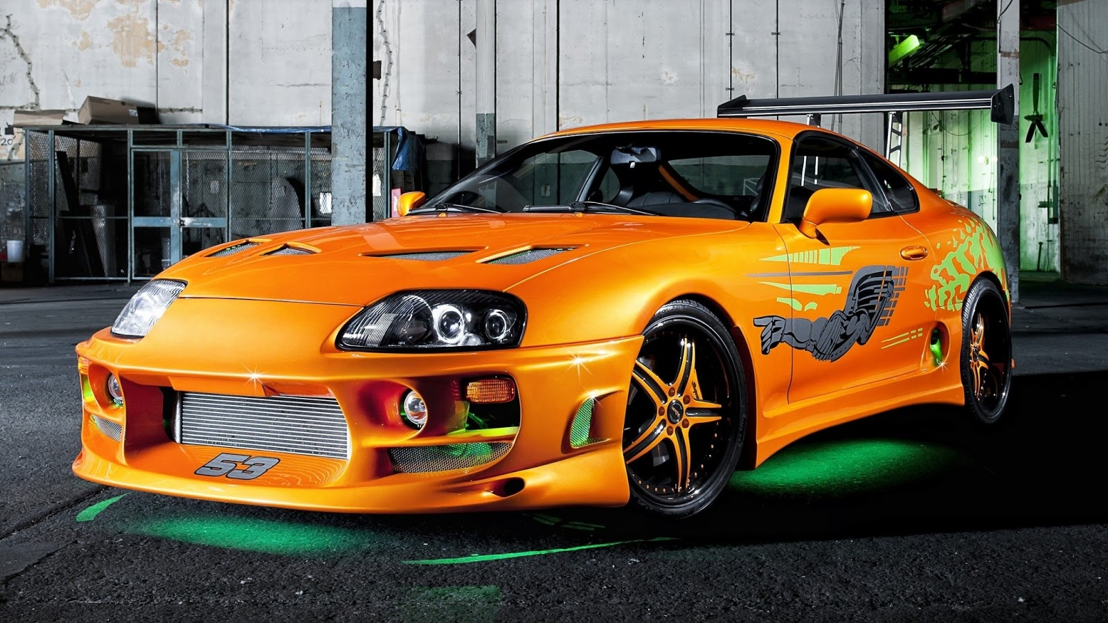 Toyota Supra Turbo Brian The Fast And The Furious