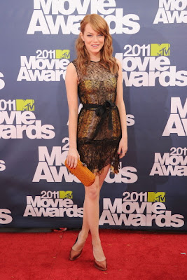 Emma Stone-Prom Dress Inspiration from celebrity dresses at the Red Carpet