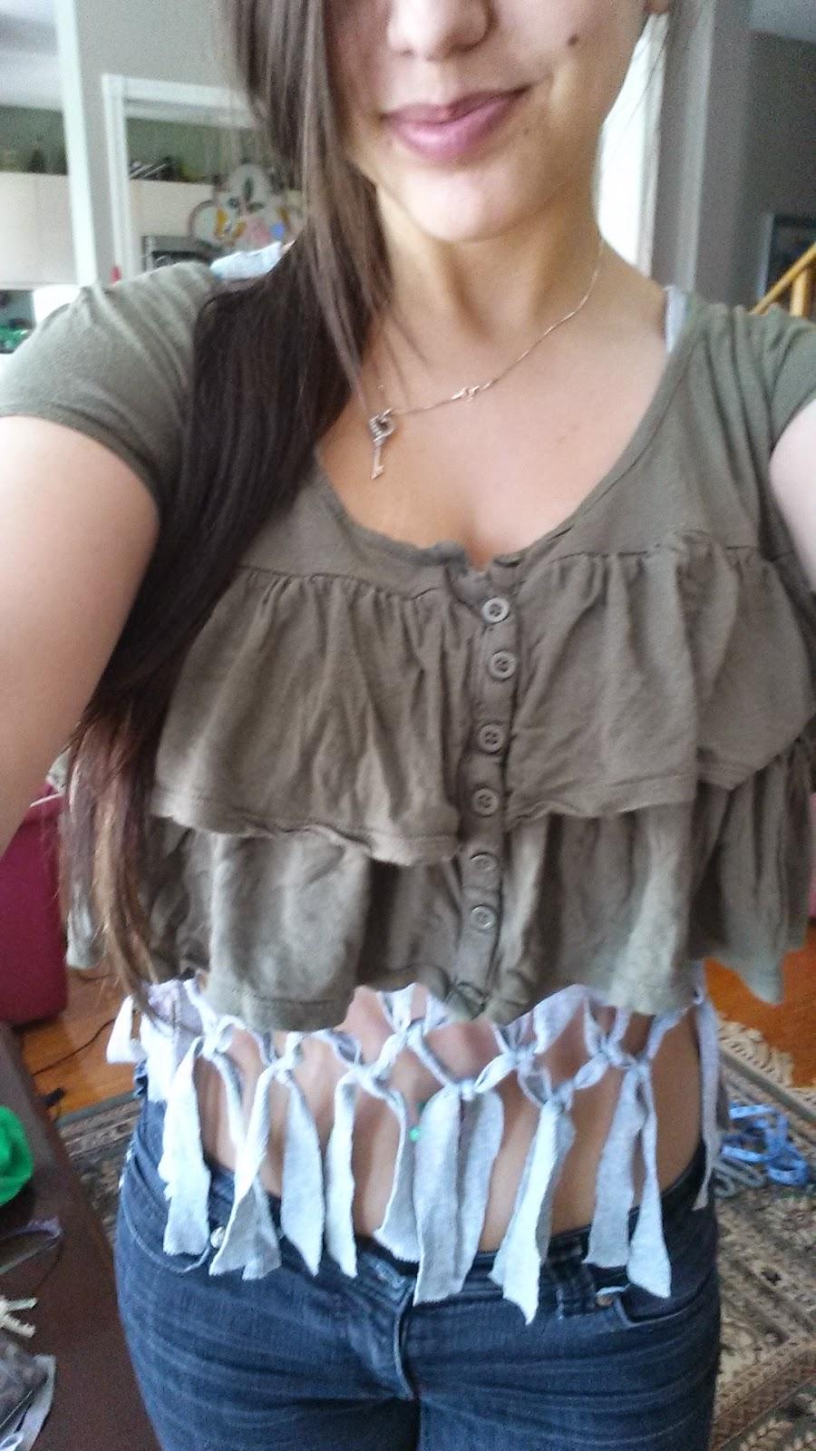 ripped, t-shirt, tank top, summer, breezy