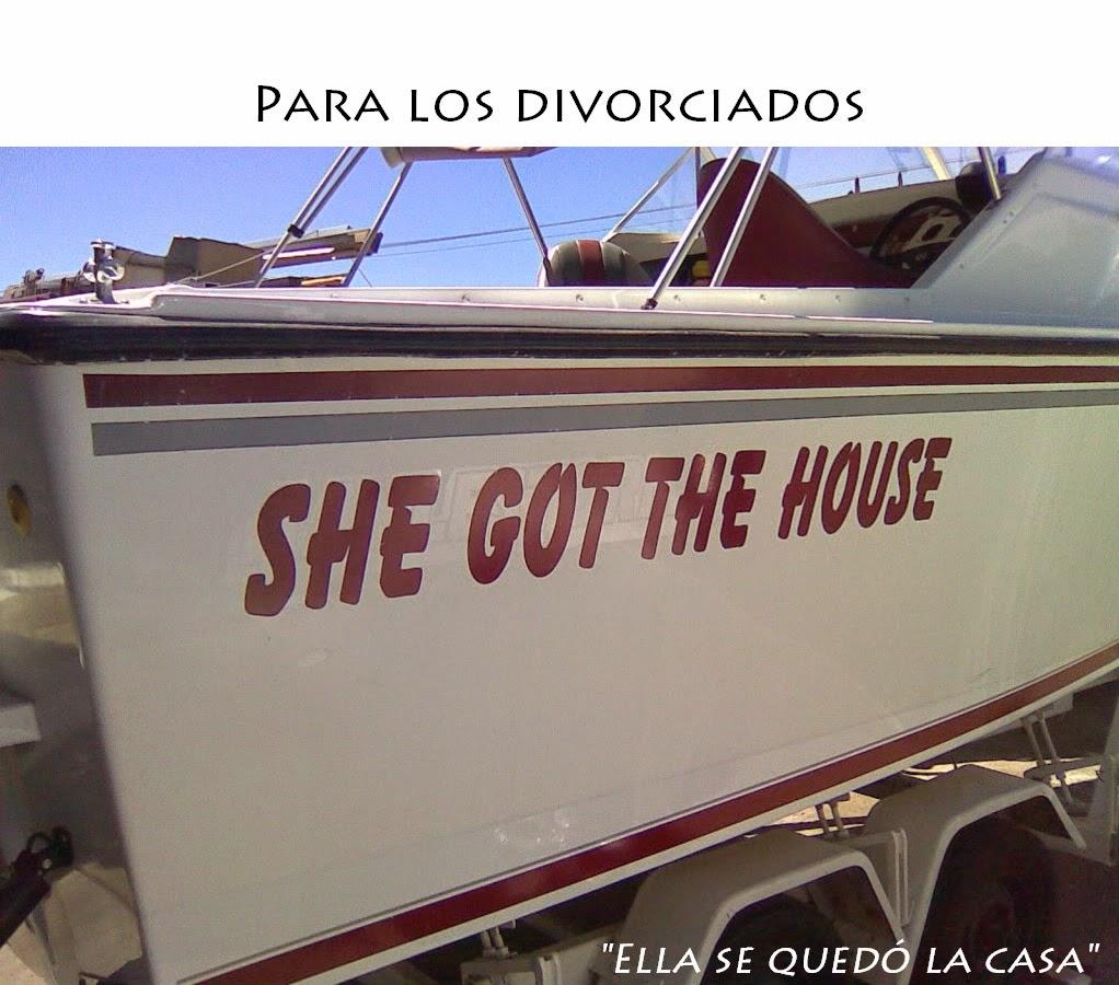 Nombres de barcos - Ella se quedó la casa