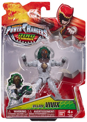 TOYS : JUGUETES - Power Rangers Dino Charge  Villano Vivix | Figura - Muñeco  Producto Oficial Serie TV 2015 | Bandai 42207 | A partir de 4 años  Comprar en Amazon España & buy Amazon USA
