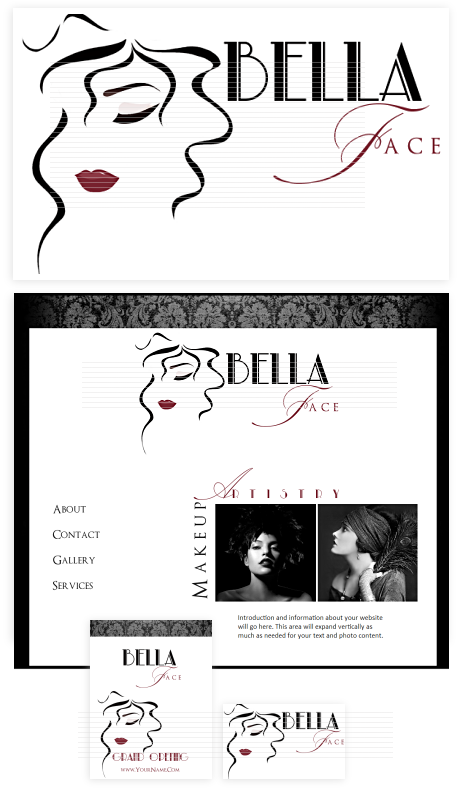 logo for beauty parlour