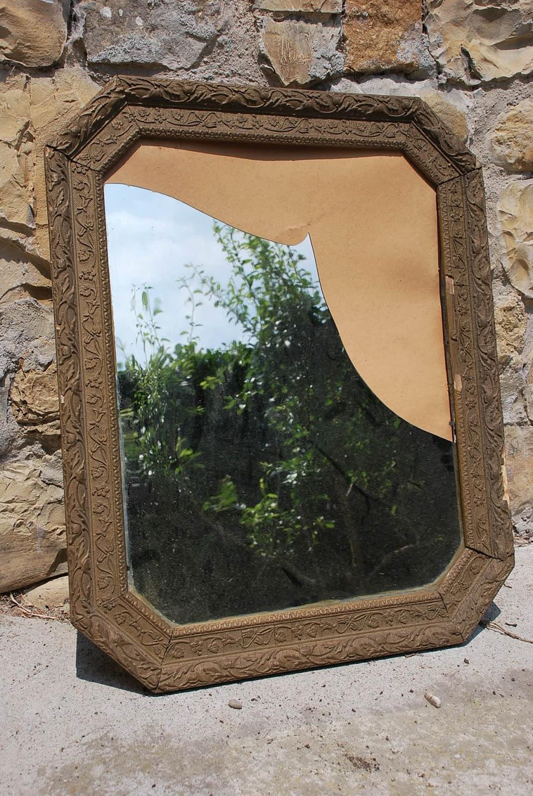 Ca 39 dei duchi cornice con specchio rotto - Specchio rotto sfortuna ...