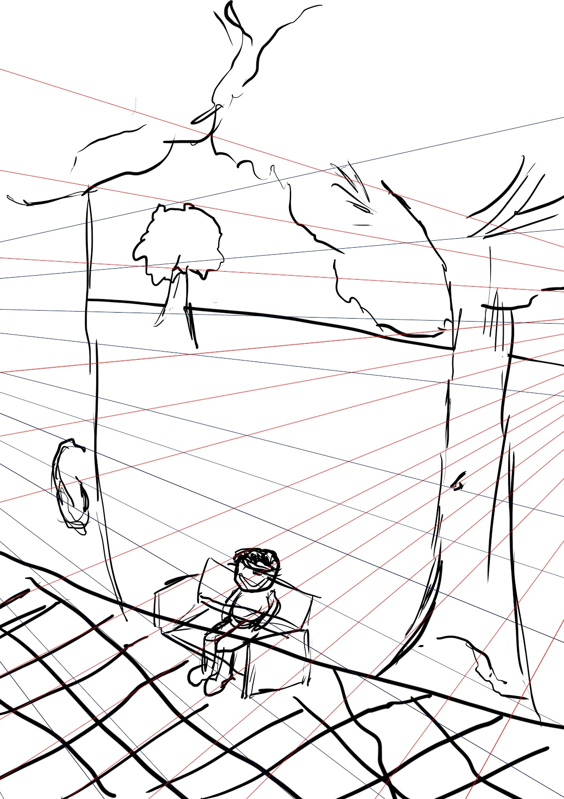 Drawing Lines With Tablet : Graphics tablet perspective drawing for games yr