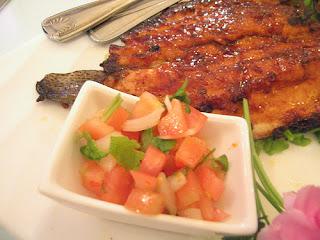 Milkfish dish