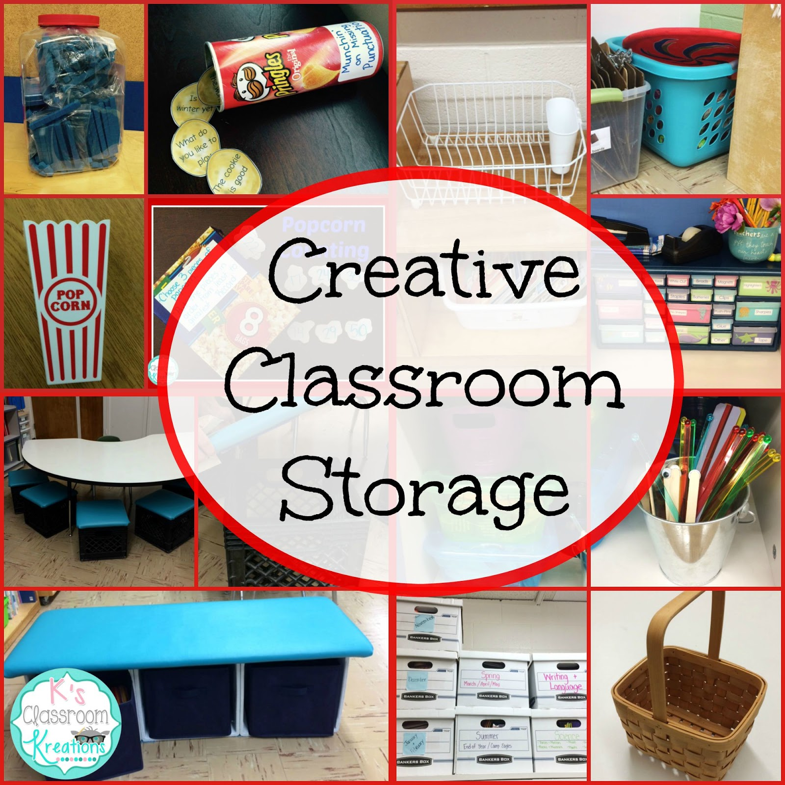 Creative Classroom Idea ~ Who s and new creative classroom storage solutions