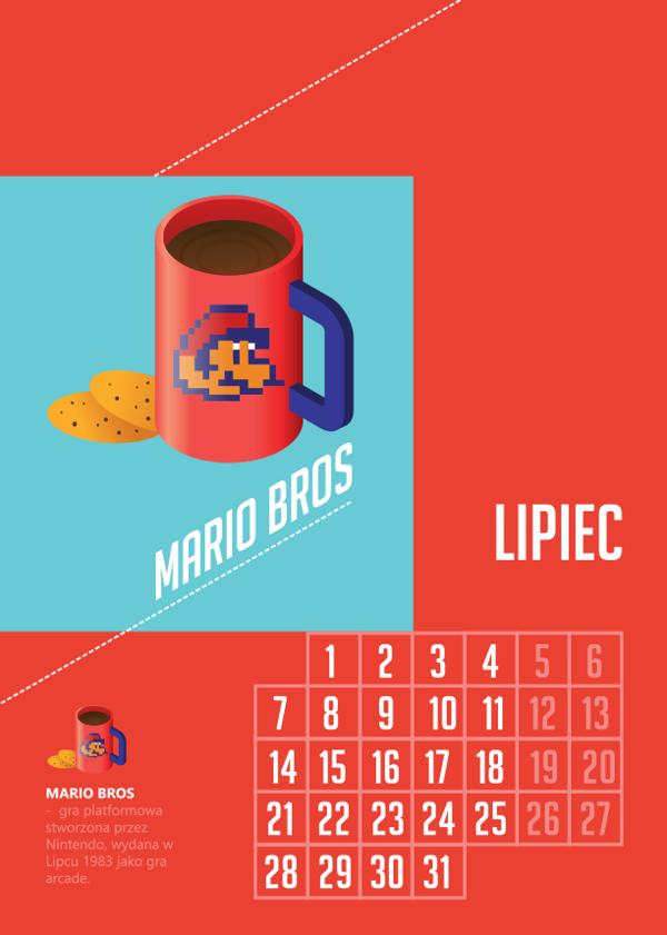 ©Kacper Chlebowicz. Geek's room. Calendar for 2014