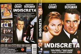 Carátula dvd de la película Indiscreta 1958