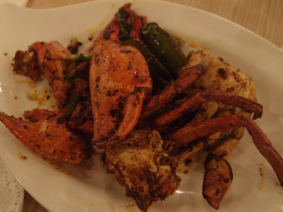 青椒豆豉焖螃蟹