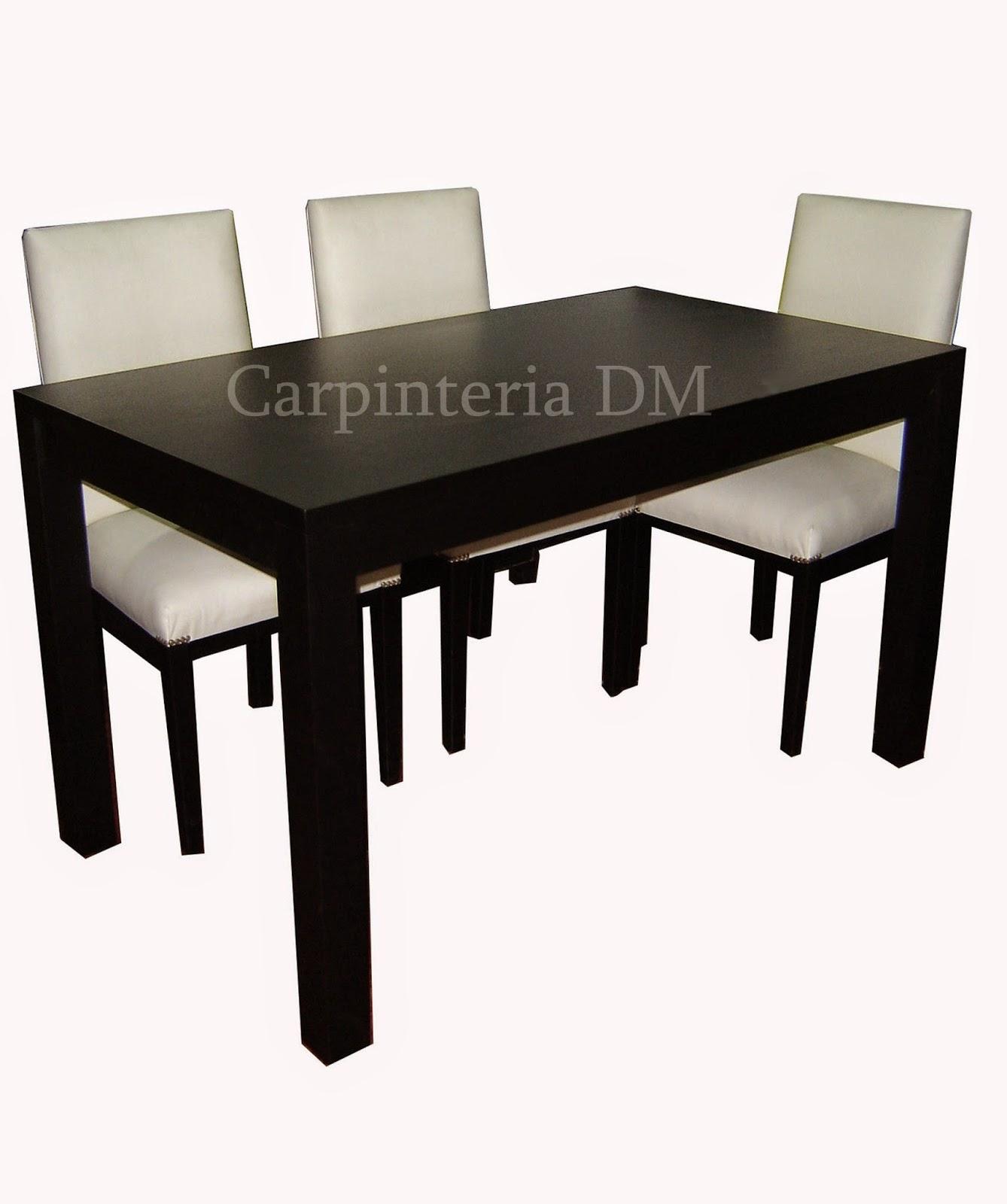 Mesas comedor capinteriadm dise os for Muebles de comedor mesas