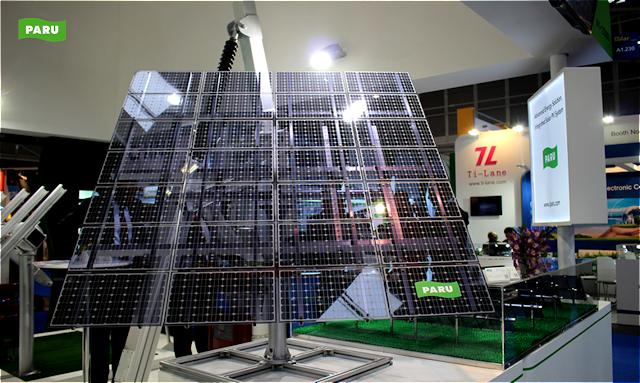 [PARU Solar Tracker] Intersolar Europe2015-03
