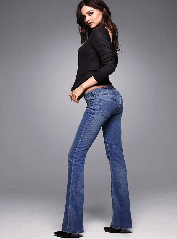 Miranda Kerr Photoshoot for Victoria's Secret Jeans 2011