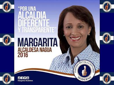 MARGARITA SUAREZ LA ALCALDESA DE NAGUA