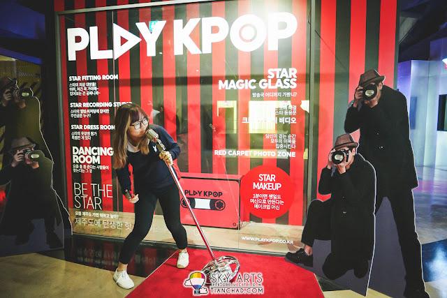 CheeChing the K-POP Star enjoying the limelights