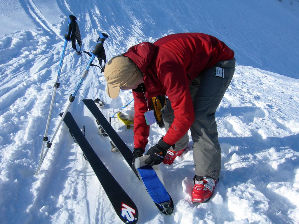 Лыжи с камусом своими руками